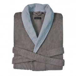 Халат Casual Avenue Hampton warm grey-sky
