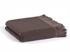 Плед-покрывало Casual Avenue Fresno pique blanket chocolate 165х240