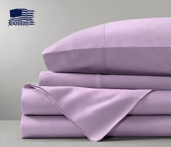 Простынь Boston Jefferson Sateen Lilac